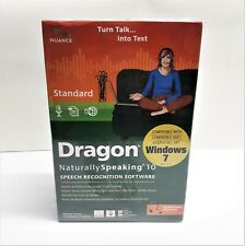 DRAGON Naturally Speaking 10 Standard Speech Recognition Software Sealed