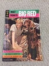 WALT DISNEY'S BIG RED Gold Key Comic Book 1962- VERY GOOD COND- A MUST SEE P13