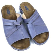 Wolky Womens Shoes Sandals Slip On Open Toe Purple Size 41