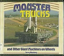 Monster Trucks and Other Giant Machines on Wheels Library Binding Jerry Bushey