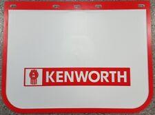 "Genuine Kenworth Mudflap Plastic White 24"" X 18"""