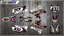 Yamaha YZ125 YZ250 UFO Restyled YZF250 YZF450 Complete Graphics Kit