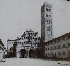Saint Martin Lucca Cathedral, Antique Magic Lantern Glass Slide