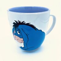 Eeyore Smile Purple And White Coffee Cup Mug Disney Store winnie the pooh