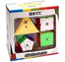 Moyu MoFang WCA Official 4 in 1 Cube Gift Set Stickerless