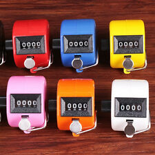 Handheld Digital Hand Tally Counter 4 DIGIT Number Manual Counting Golf Clicker