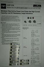 100pcs Kit assortment  inductor coil  SMD size 1812 MURATA TAIYO YUDEN TDK