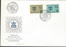 1960 FDC Portugal Primeiro Dia De Circulacao