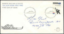 Netherlands 1982 Royal Dutch Skating Association FDC First Day Cover #C27766