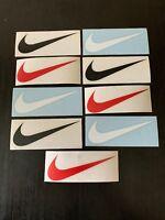 Nike Swoosh Logo Stickers 9 Die Cut Skateboarding Shoes Diamond Vinyl Decals