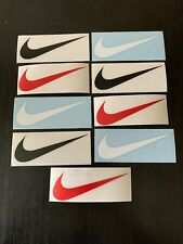 Nike Swoosh Logo Stickers 9 Die Cut Skateboarding Shoes Diamond Vinyl Decals