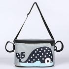 Clip or Strap on Nappy Bag for Stroller/Pram - Whale