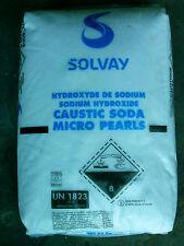 "soude caustique micro perles 99%.(1 kg ) Caustic soda ""Sodium Hydroxide"""