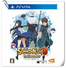 PSV Summon Night 6 JAP / 召喚夜響曲6 中文 / ENG SONY VITA RPG Games Bandai Namco
