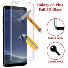 For Samsung Galaxy S8 plus 3D Full Curved Tempered Glass LCD Screen Protector