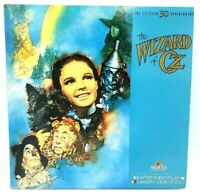 The Wizard Of Oz 50th Anniversary Laserdisc Videodisc Extended Play MGM NEW
