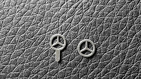 Mercedes Benz Star Emblem Logo kyosho, Norev, Autoart 1:18 steel replacement
