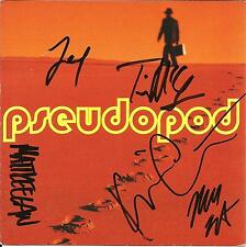 Kevin Carlberg PSEUDOPOD Signed AUTOGRAPHED Self titled CD Booklet Cover 2002
