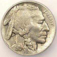 1919-D Buffalo Nickel 5C - ICG XF40 Details - Rare Date Certified Coin