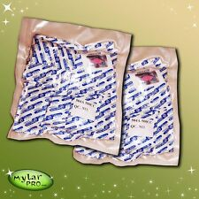 100 500cc Oxygen Absorbers for Mylar Bags or #10 Cans Long Term Food Storage O2