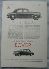 1949 Rover Seventy-Five Original advert No.2