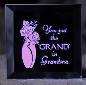 A Gift for Grandma - A Keepsake Magnet for a Grand Grandma