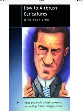 Airbrush Caricatures Airbrush Action Painting DVD with Kent Lind Createx(LAST 2)