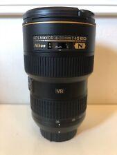 Nikon NIKKOR 16-35mm f/4 AS G SWM AF-S VR IF N M/A ED Lens MINT