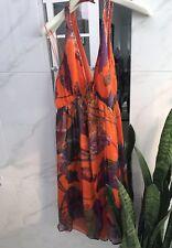 Seduce Dress Brilliantly Colourful Silk Dress Cocktail Races Weddings