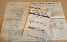 Marantz ST310 ST310L ST450 ST450L libro de instrucciones Manual especificaciones + + esquemático