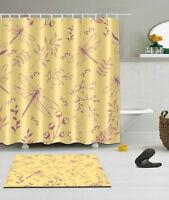 "72//79/"" Magic Cloud Unicorn Waterproof Bathroom Decor Shower Curtain /&Mat /&12Hook"