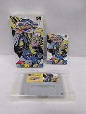 SNES -- SONIC BLAST MAN -- Boxed. Super famicom. Japan game. Work fully. 12923