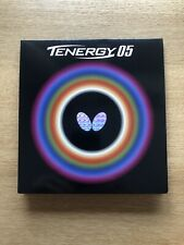 New listing Butterfly Tenergy 05 Table Tennis Rubber (Black - 2.1mm)