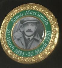 TOMAS MACCURTAIN  IRISH REPUBLICAN BADGE,MAYOR OF CORK ASSASSINATED 1920