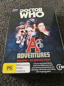 Doctor Who - Ace Adventures DVD box set R4 like new Dragonfire Happiness Patrol