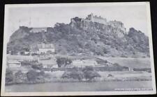 Old Postcard Of Stirling Castle From Raploch 1951
