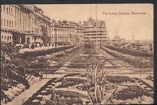 Sussex Postcard - The Carpet Gardens, Eastbourne  RS3634