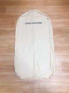 Authentic Louis Vuitton Garment Cover Suit Storage Set of 2 Standard Size