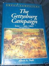GETTYSBURG  CAMPAIGN, June-July, 1863 by David G. Martin and Albert A. Nofi...