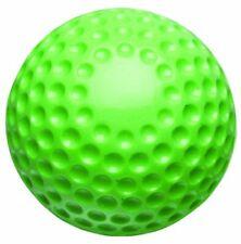 Green 9-Inch Lightweight Foam Dimpled Practice Baseball, Dozen