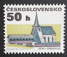 Czechoslovakia (1992) Chrudim Church / Architecture  - Mint (MNH)