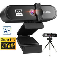 1080P/2K/4K  HD WebCam Kamera Autofokus mit Mikrofon Drehbar WebCam USB 3.0 PC