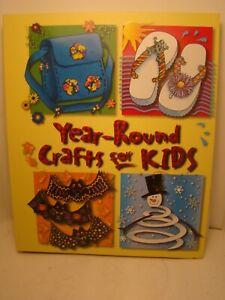 Set of 4 Children's Craft Books
