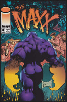 "Image Comics Collectible ""The MAXX"" Comic Issue No. 4, August 1993"