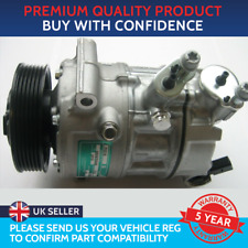 AIR CON COMPRESSOR PUMP TO FIT AUDI A1 A3 A4 Q3 SEAT LEON SKODA OCTAVIA VW GOLF