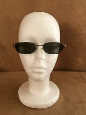 Persol Sunglasses DAMAGED unisex men women gray metal glasses