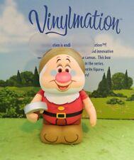 "Disney Vinylmation 3"" Park Set 5 Animation Doc Snow White Seven Dwarves"