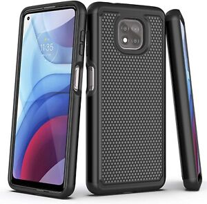 For Motorola Moto G Power (2021) Phone Case Shockproof Rugged Hard Bumper Cover