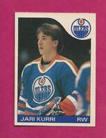 1985-86 OPC # 155 OILERS JARI KURRI EX-MT CARD (INV# A5687)