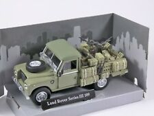 LAND ROVER SERIES III 109 MILITARY 1/43 scale model by Cararama